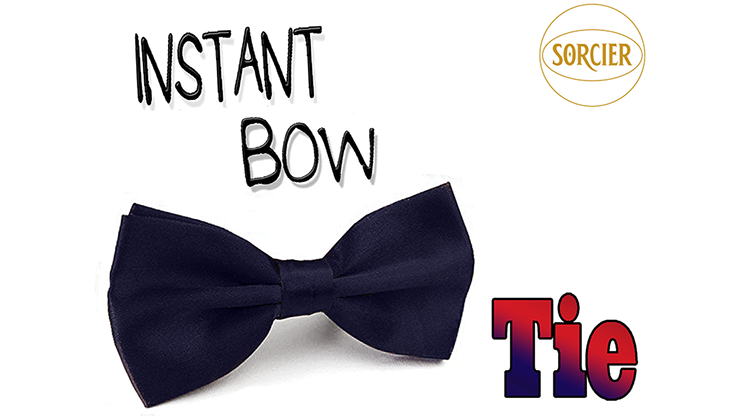 Instant Bow Tie (Blue) by Sorcier Magic Fliege an Hals erscheinen lassen