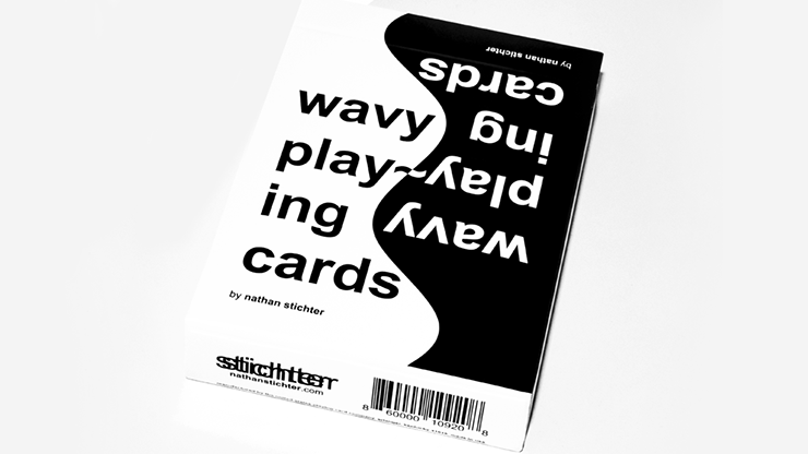 Wavy Playing Cards by Nathan Stichter Poker Kartenspiel Spielkarten