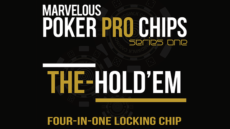 The Hold\'Em Chip (Gimmicks and Online Instructions) - Matthew Wright