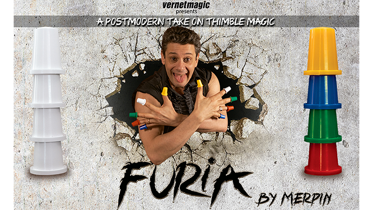 Furia (Gimmicks and Online Instructions) by Merpin