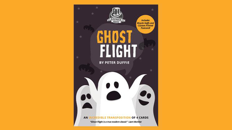 Ghost Flight (Gimmicks and Online Instructions) by Peter Duffie and Kaymar Magic