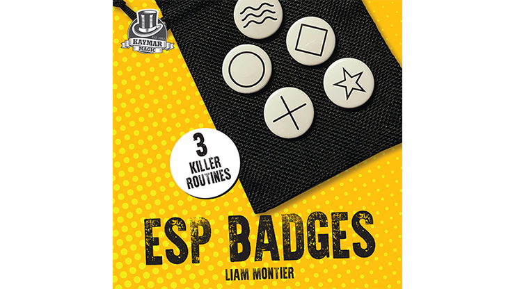 ESP Badges - Liam Montier & Kaymar Magic
