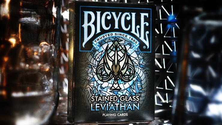 Bicycle Stained Glass Leviathan Playing Cards Poker Kartenspiel Spielkarten