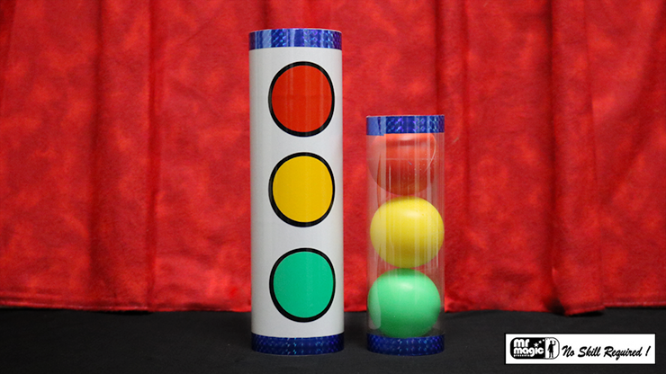 Joker Ball and Tube (Small) by Mr. Magic - Trick