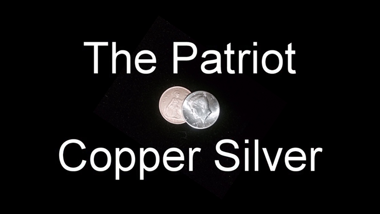 Patriot Copper Silver by Paul Andrich... MagicWorld Magic Shop