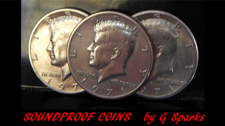 Soundproof Coins - G Sparks Magic