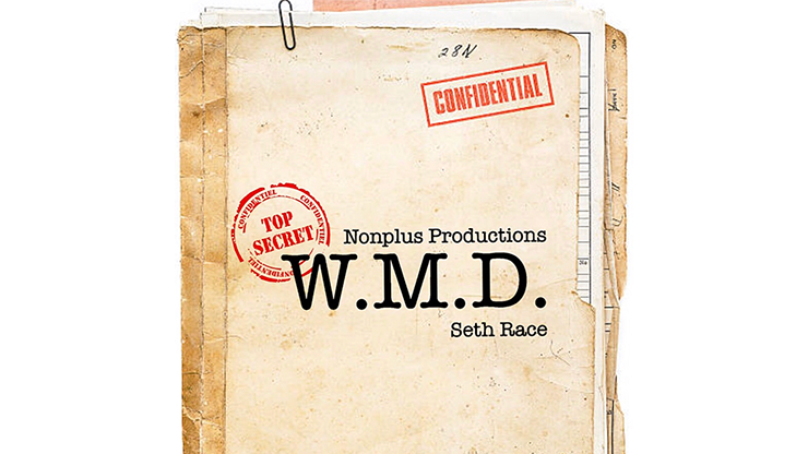 W.M.D. (Gimmick and Online Instructions) by Seth Race Matrix-Routine mit Druckerfarbe von Geldschein