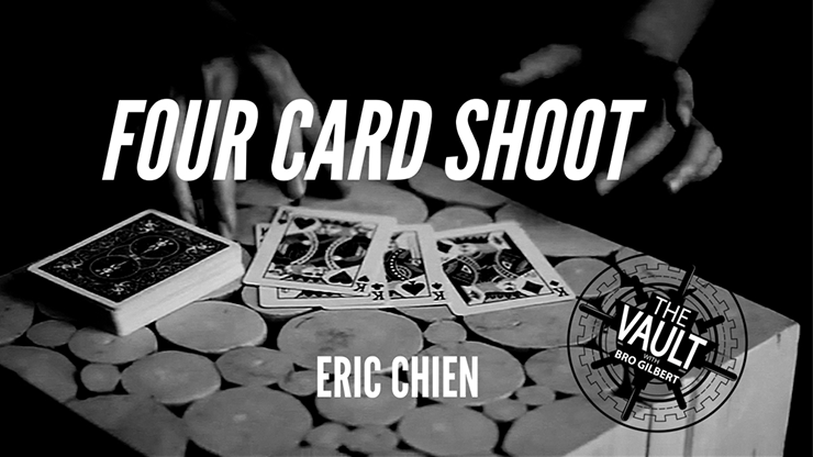 The Vault Four Card Shoot by Eric Chien video DOWNLOAD