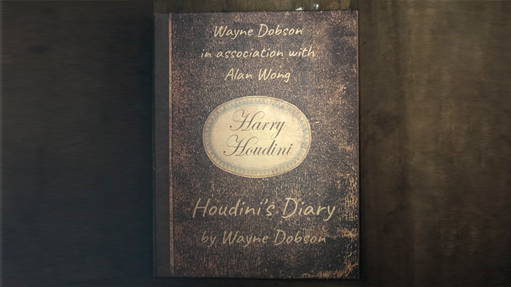 Houdini's Diary (Gimmick and Online Instructions) by Wayne Dobson and Alan Wong - Trick