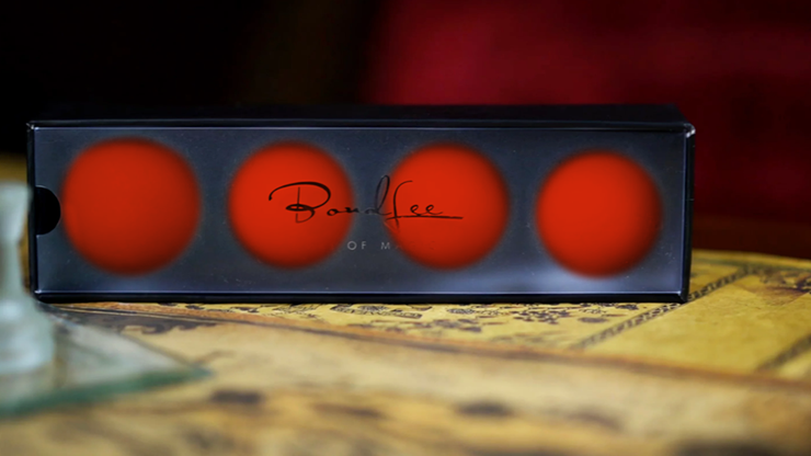 Perfect Manipulation Balls (1.7 Red) by Bond Lee Vier Trickbälle, 45 mm, Rot