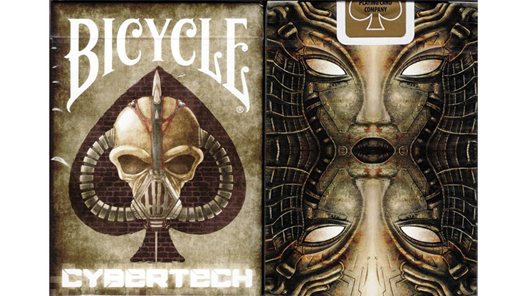 Gilded Limited Edition Bicycle Cybertech Playing Cards