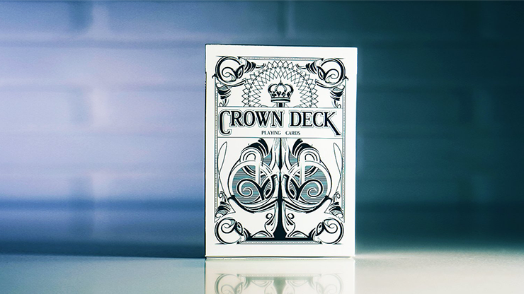 Limited Edition Crown Deck (Snow) by The Blue Crown Poker Kartenspiel Spielkarten