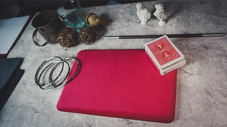 Suede Leather Mini Pad (Red) - TCC