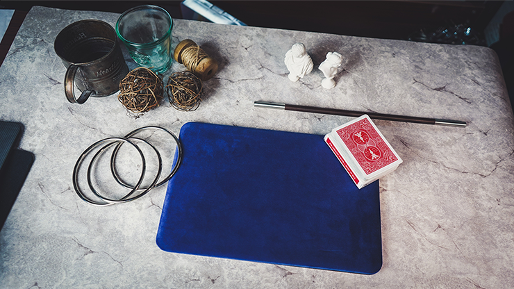 Suede Leather Mini Pad (Blue) by TCC - Trick