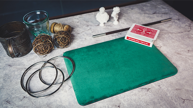Suede Leather Mini Pad (Green) by TCC - Trick