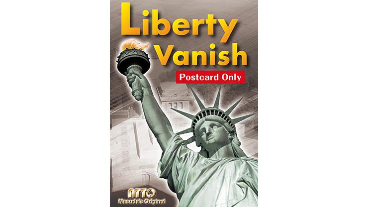Liberty Vanish (Postcard Only) by Masuda Freiheitsstatue verschwindet auf Foto