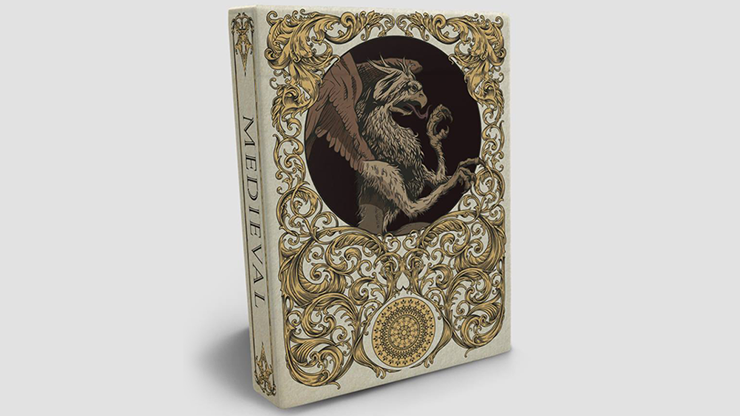 Medieval Gold Edition - Elephant Playing Cards
