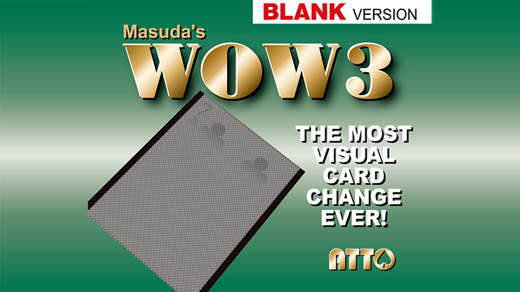 WOW 3.0 Blank (Gimmick and Online Instruction) - Masuda