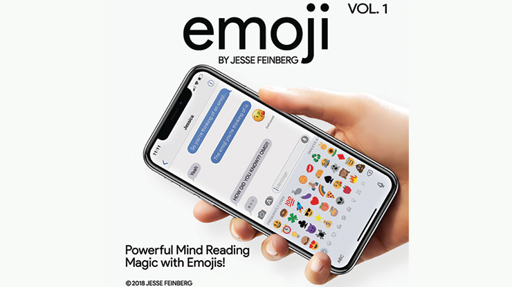 Emoji (Gimmicks and Online Instructions) by Jesse Feinberg - Trick