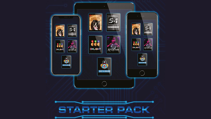 Starter Pack by Magic Dream Digitale Zaubertricks mit iPhone/iPad