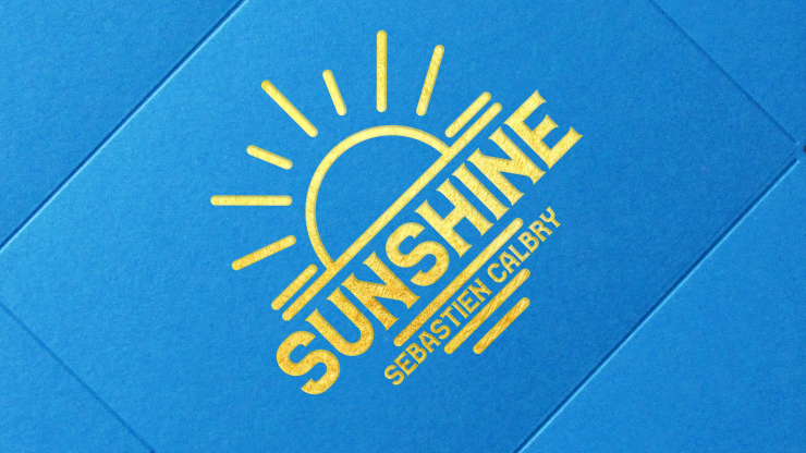 SUNSHINE (Gimmick and Online Instructions) - Sebastien Calbry