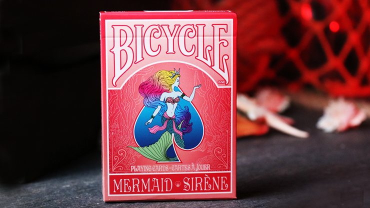 Mermaid Playing Cards (Red) - US Playing Card Co