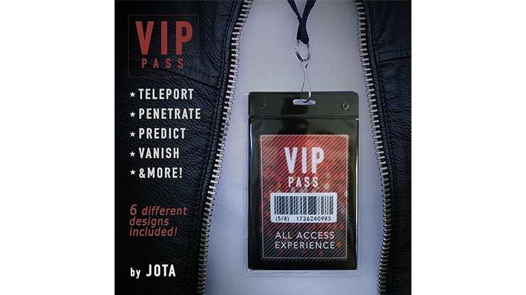 VIP PASS (Gimmick and Online Instructions)