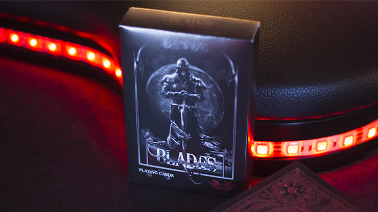The Master Series - Blades Blood Moon - De'vo (Standard Edition) Playing Cards