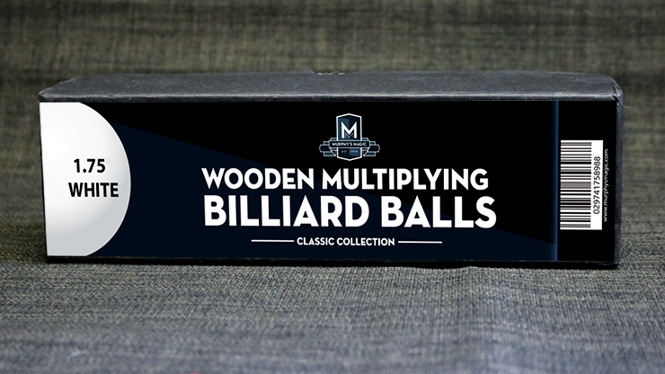 Wooden Billiard Balls 1.75