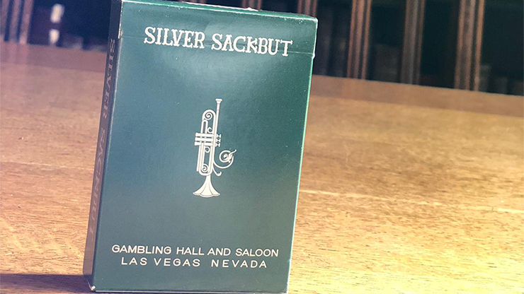 Limited Edition Silver Sackbut Playing Cards V2 (Emerald) Poker Kartenspiel Spielkarten