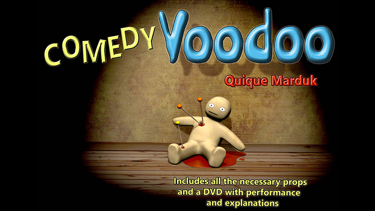 Comedy Voodoo by Quique Marduk... MagicWorld Magic Shop