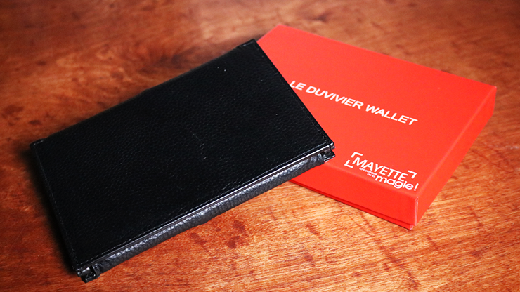 Dominique Duvivier Presents: Duvivier Wallet (Gimmick and Online Instructions) Vielseitige Trickbrieftasche