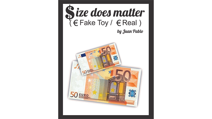 Size Does Matter (Gimmicks and Online Instructions) by Juan Pablo Magic
