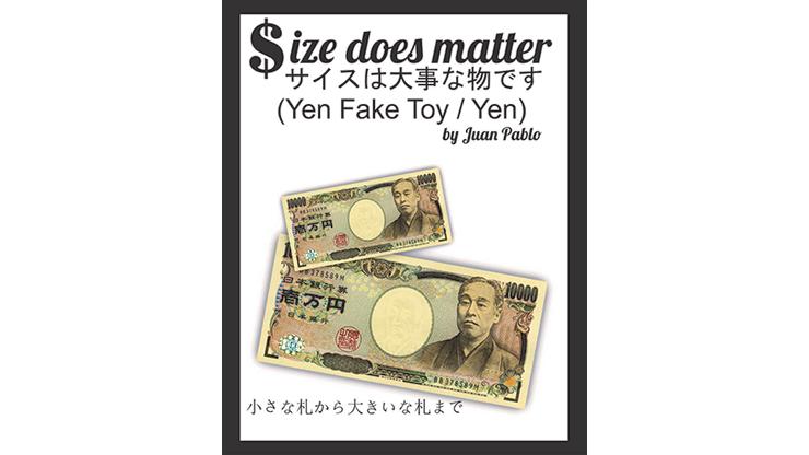 Size Does Matter J-YEN (Gimmicks and Online Instruction)