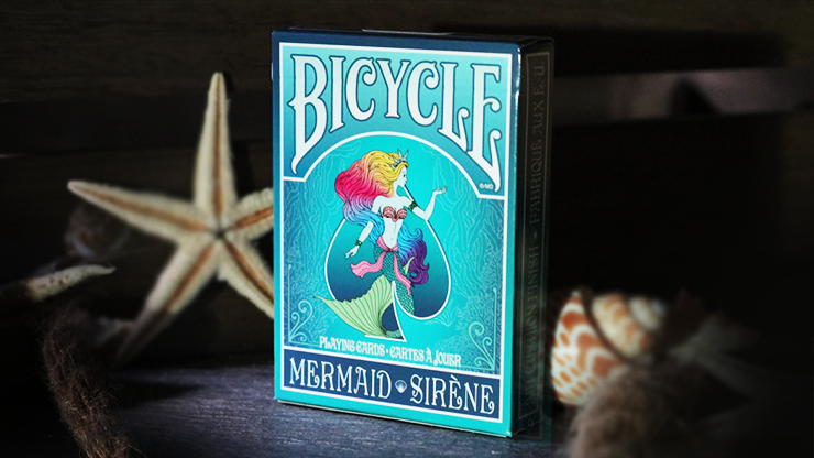 Mermaid Playing Cards (Turquoise) by US Playing Card Co Poker Kartenspiel Spielkarten