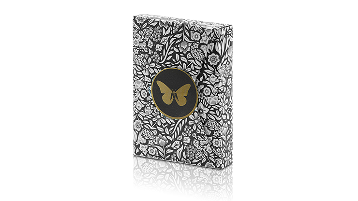 Limited Edition Butterfly Playing Cards Marked (Black and Gold) - Ondrej Psenicka