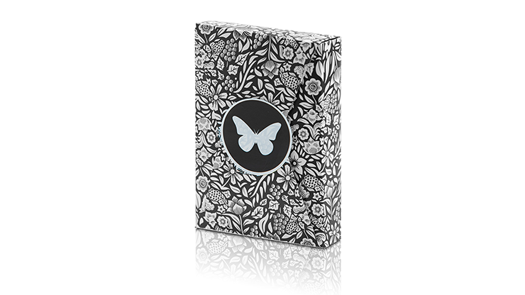 Limited Edition Butterfly Playing Cards (Black and White) - Ondrej Psenicka
