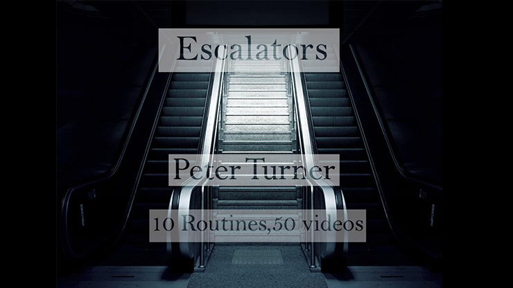 Escalators by Peter Turner Mixed Media DOWNLOAD