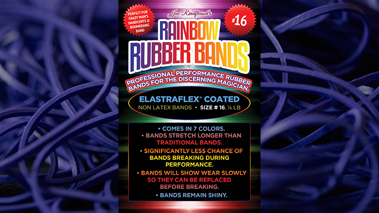 Joe Rindfleisch's SIZE 16 Rainbow Rubber Bands (Dan Harlan - Deep Purple )