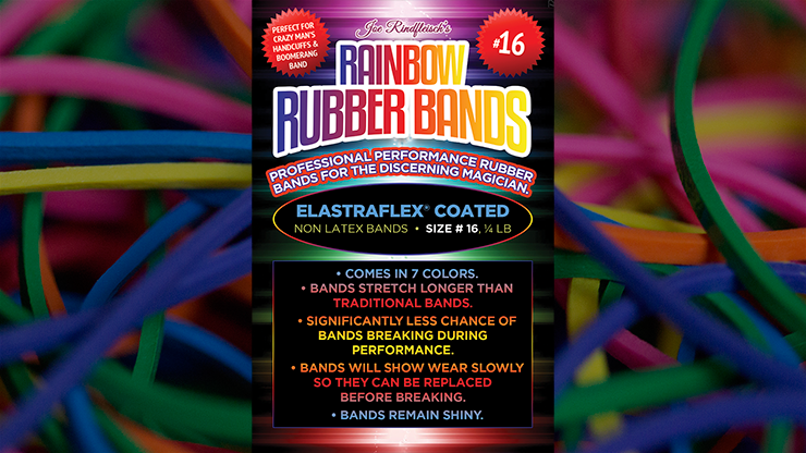 Joe Rindfleisch Size 16 Rainbow Rubber Bands