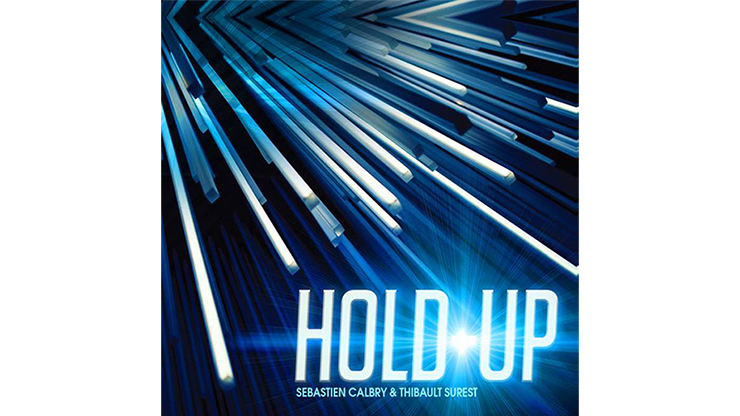 HOLD UP Blue (Gimmick and Online Instructions) - Sebastien Calbry