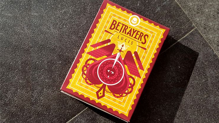 Betrayers Lucis Playing Cards by Giovanni Meroni Poker Kartenspiel Spielkarten
