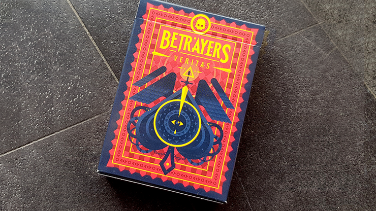 Limited Edition Betrayers Veritas Playing Cards - Giovanni Meroni