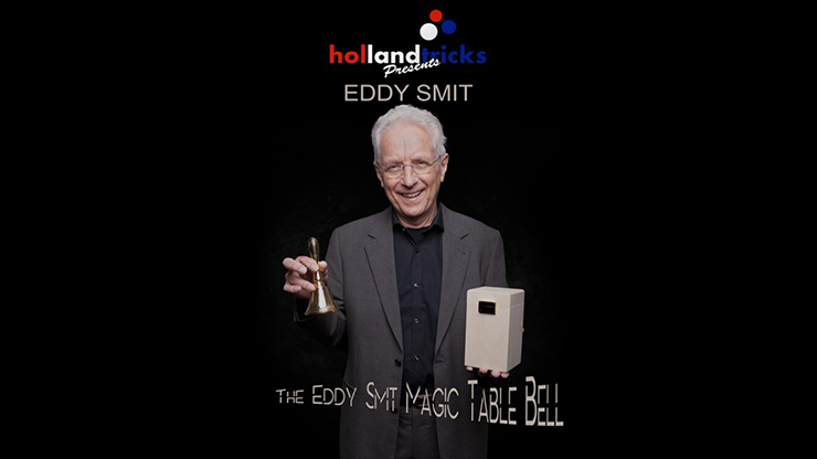 Holland Tricks Presents The Eddy Smit Magic Table Bell Limited Edition