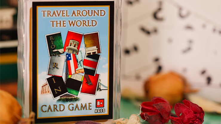 Travel Around the World (Gimmicks and Online Instructions) - Tony D\'Amico and Luca Volpe Productions