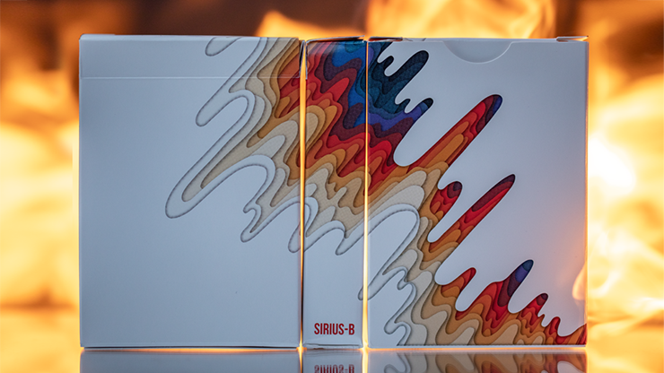 Sirius B V2 Playing Cards by Riffle Shuffle - Limited