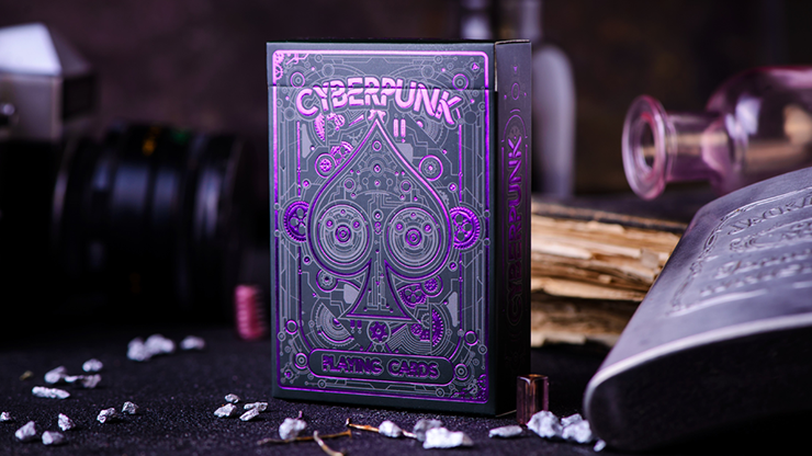 Cyberpunk Purple by Elephant Playing Cards