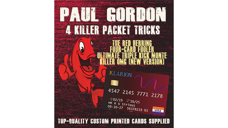 Paul Gordon's 4 Killer Packet Tricks Vol. 1