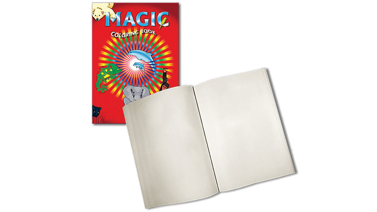 Magic Coloring Book (Blank pages) by Vincenzo Di Fatta Magic
