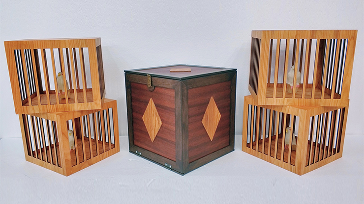 Everything to 4 Dove Cages (Wooden) - Tora Magic